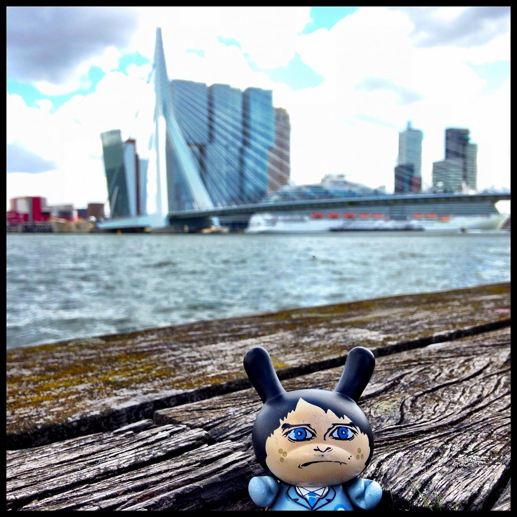 Señor Panchito has a love-hate relationship with Rotterdam.